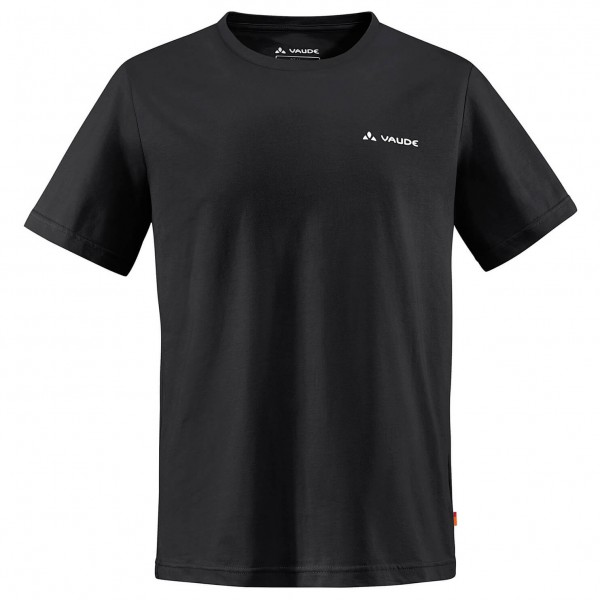 Vaude - Brand Shirt - T-Shirt - Gr. L, schwarz