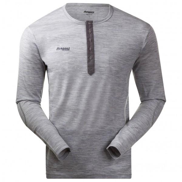 Bergans - Henley Wool Shirt Longsleeve Gr S grau Sale Angebote