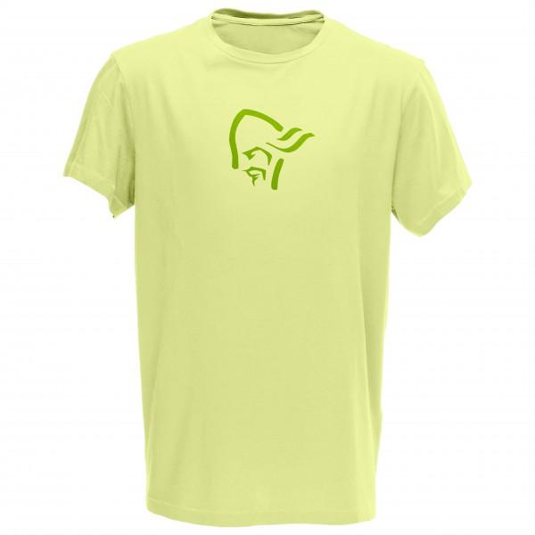 Norrøna - /29 Cotton Logo T-Shirt Gr S grün Sale Angebote Lieskau