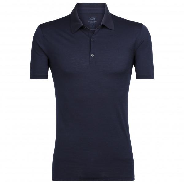 Icebreaker - Tech Lite S/s Polo - Polo Shirt Size Xl  Black