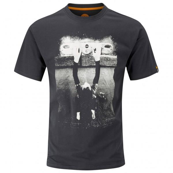 Fingerboard Tee - T-Shirt Gr S schwarz/grau