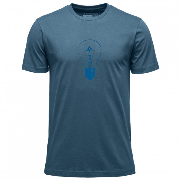 Black Diamond - S/s Black Diamond Idea Tee - T-shirt Size L  Blue