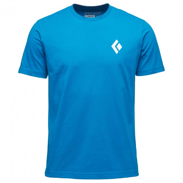Black Diamond - S/s Equipment For Alpinist Tee - T-shirt Size S  Blue