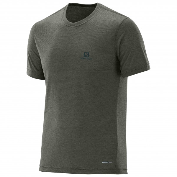 Salomon - Explore S/S Tee T-Shirt Gr M;XL grau
