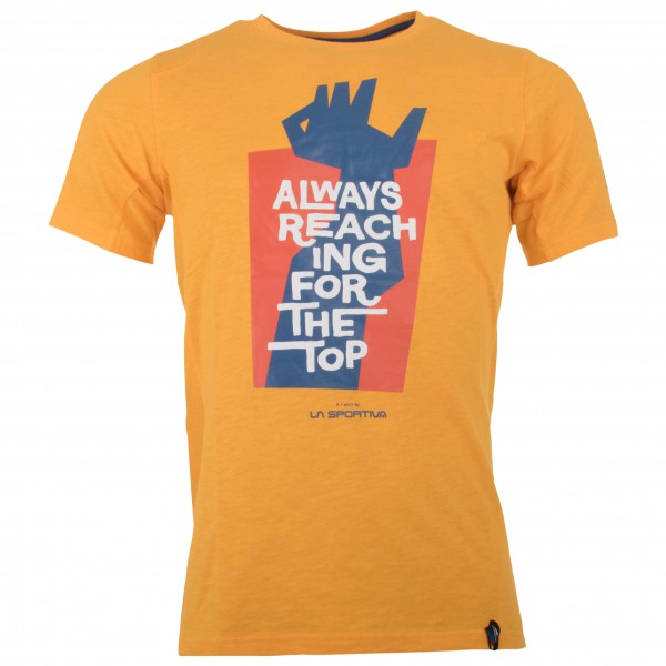 La Sportiva - Reaching the Top T-Shirt Gr S blau
