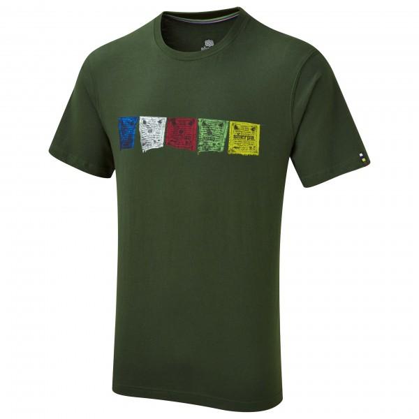 #Sherpa – Tarcho Tee – T-Shirt Gr L;M;S;XL;XXL schwarz;lila;schwarz/blau;blau#
