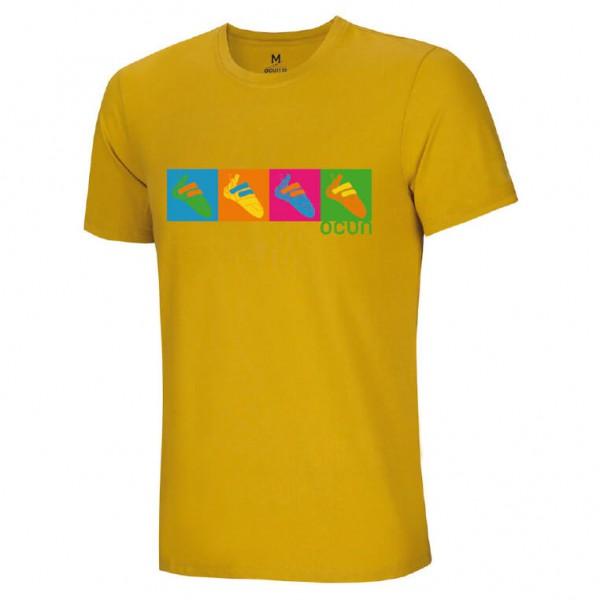 Ocun - Pop Art Shoes Tee - T-Shirt Gr L orange
