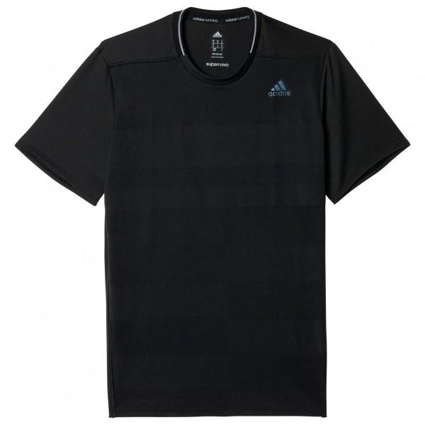 adidas Supernova Short Sleeve Joggingshirt maat XL zwart