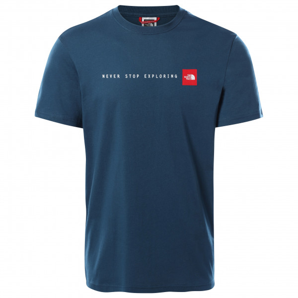The North Face - S/s Nse Tee - T-shirt Size M  Blue