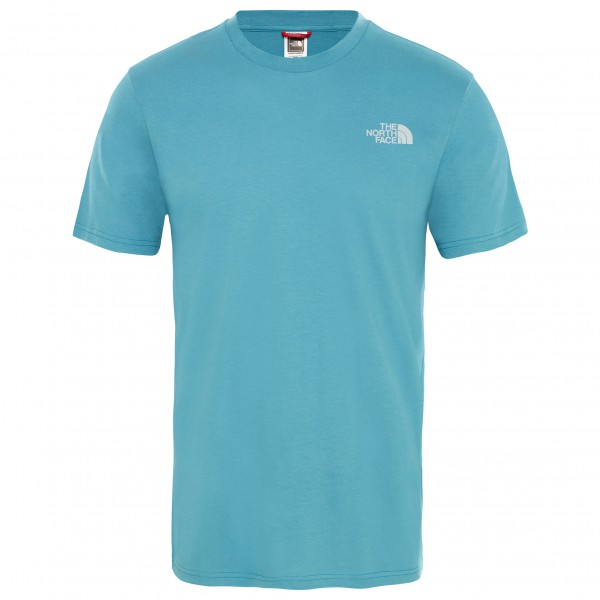 The North Face - S/S Simple Dome Tee - T-Shirt Gr L türkis Preisvergleich