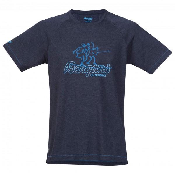 Bergans - Tee T-Shirt Gr S;XL grau/weiß;schwarz/blau Sale Angebote