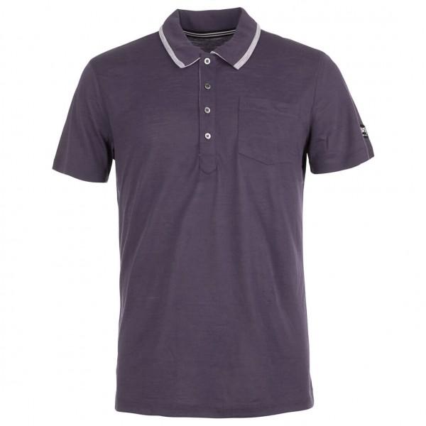 SuperNatural - Comfort Polo Polo-Shirt Gr L;M;S schwarz/lila;blau;grau