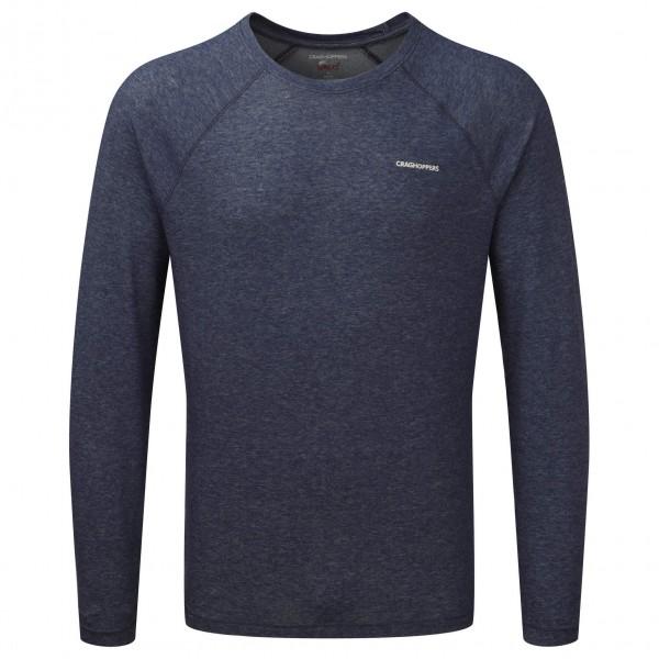 Craghoppers - NosiLife Bayame Long Sleeved T-Shirt Gr M;S;XXL schwarz/grau;schwarz/blau;schwarz/grau/braun