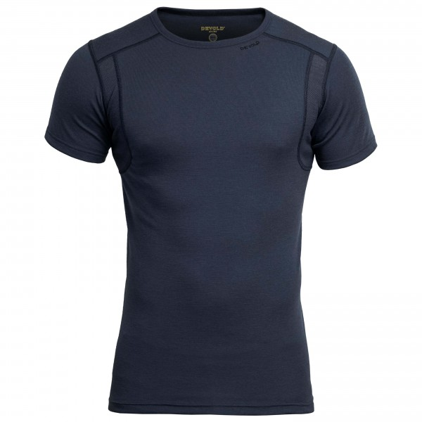 Devold - Hiking T-Shirt Funktionsshirt Gr XXL schwarz/blau