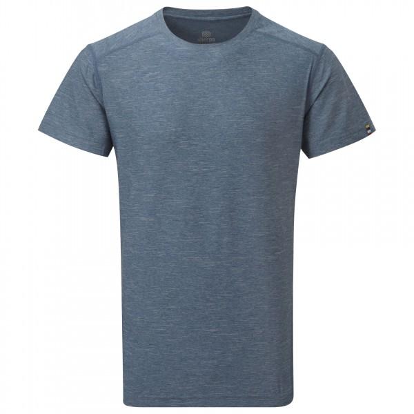 Sherpa - Rinchen S/S Tee T-Shirt Gr S grau/schwarz