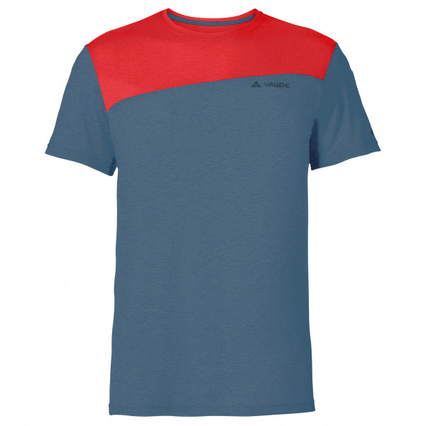 Vaude - Sveit Shirt - Sport Shirt Size S  Blue/red