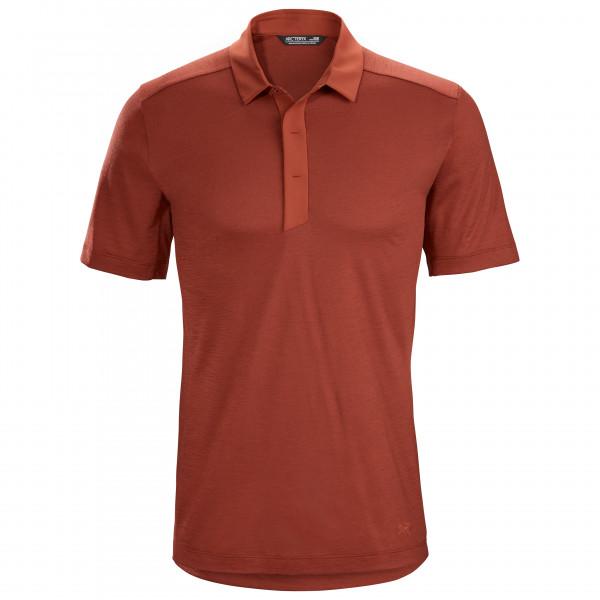 Arc'teryx - A2B Polo S/S - Polo-Shirt Gr XXL rot 417750