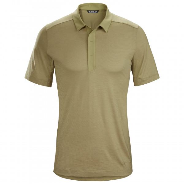 Arc'teryx - A2B Polo S/S - Polo-Shirt Gr L beige/braun/grau 417751