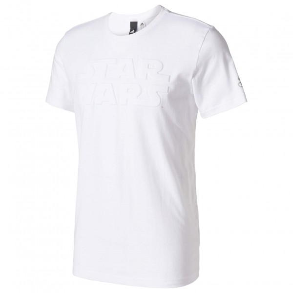 adidas Star Wars T-shirt maat XL wit-grijs