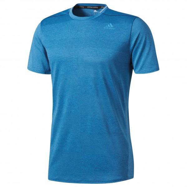 adidas Supernova Short Sleeve Tee Joggingshirt maat S blauw