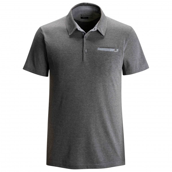 Black Diamond - Attitude Polo - Polo-Shirt Gr XL schwarz/grau