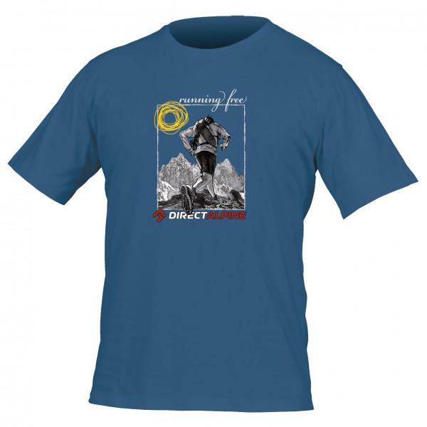 Directalpine - Crack 5.0 - T-shirt taille XL, bleu