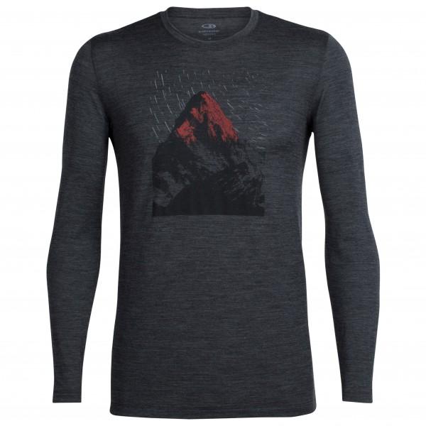 Icebreaker Tech Lite LS Crewe men Shirt Herren grau Gr. XL jetztbilligerkaufen