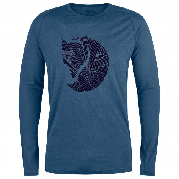 Fjällräven - Abisko Trail T-Shirt Print L/S - L...