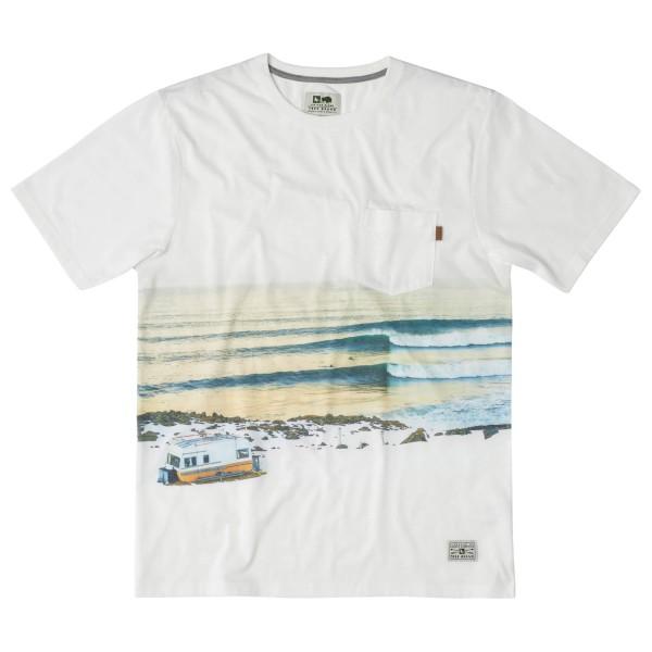 Hippy Tree - Nordic Tee T-Shirt Gr XL grau/weiß