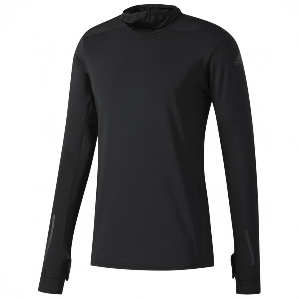 adidas - Supernova Tokyo Long Sleeve Tee - Laufshirt Gr L;M;S schwarz/grau/blau Preisvergleich