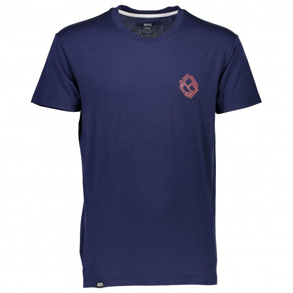 Mons Royale - Primo T Diamond - T-Shirt Gr XL blau