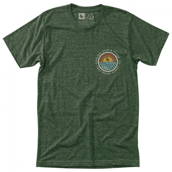 Hippy Tree - Community Tee - T-Shirt Gr XL oliv