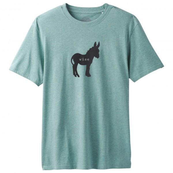 Prana - Wise Ass Journeyman - T-Shirt Gr XL türkis/grau