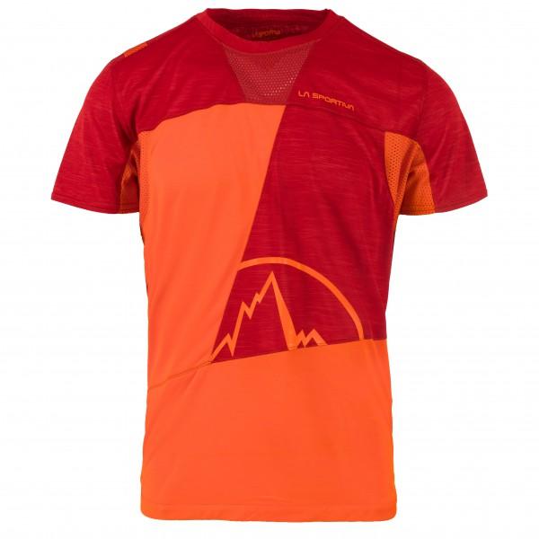 La Sportiva - Workout T-Shirt - T-Shirt Gr M rot/orange