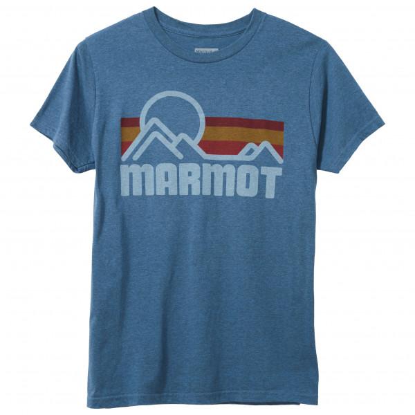 Marmot - Marmot Coastal Tee S/S - T-Shirt Gr M blau 42430-1981-M