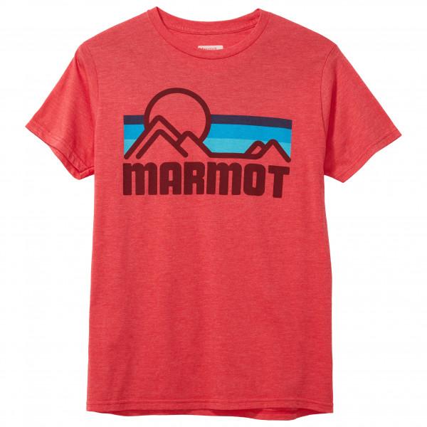Marmot - Marmot Coastal Tee S/S - T-Shirt Gr L rot 42430-8564-L