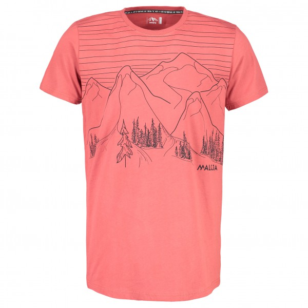 Maloja - BuolfM. T-Shirt Gr XL rot jetztbilligerkaufen