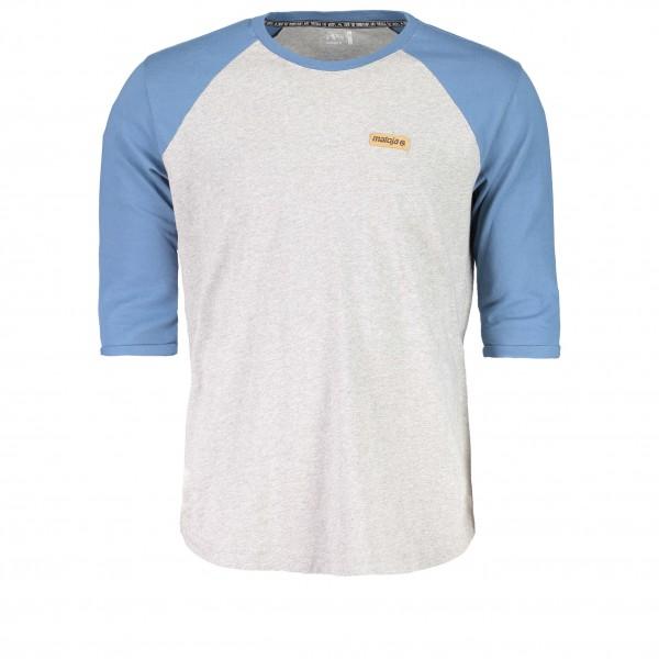 Maloja - NairM. T-Shirt Gr XL grau/weiß/blau jetztbilligerkaufen
