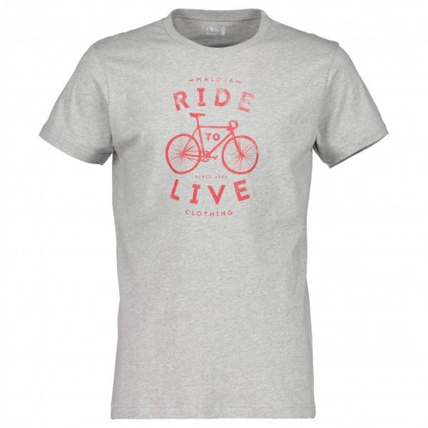 Maloja - RosegM. T-Shirt Gr XXL grau jetztbilligerkaufen