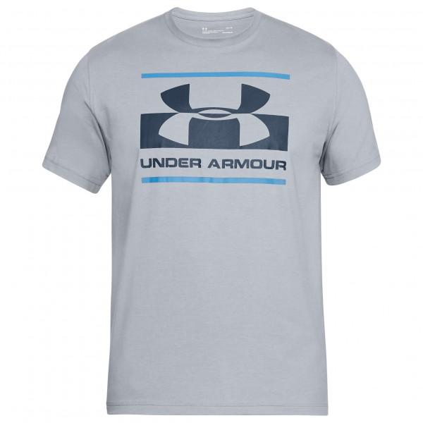 Under Armour - Blocked Sportstyle Logo Funktionsshirt Gr 3XL grau