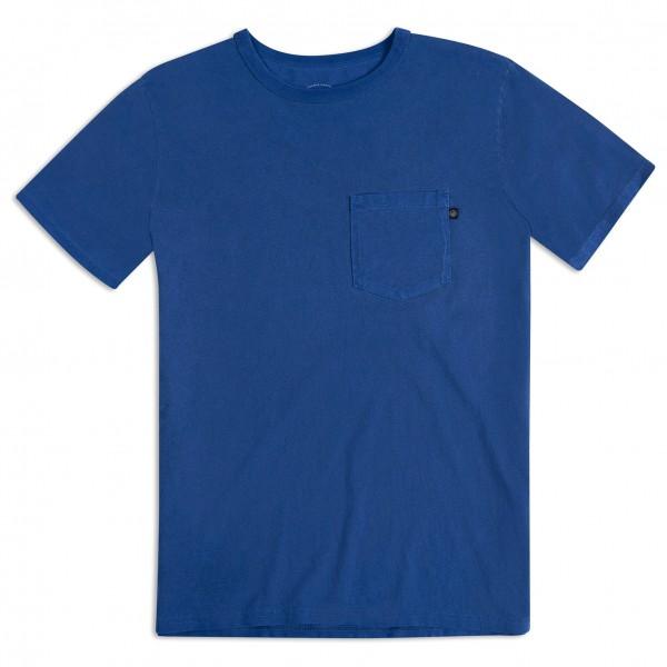 United By Blue - Keep Paddling Pocket Tee - T-Shirt Gr L blau