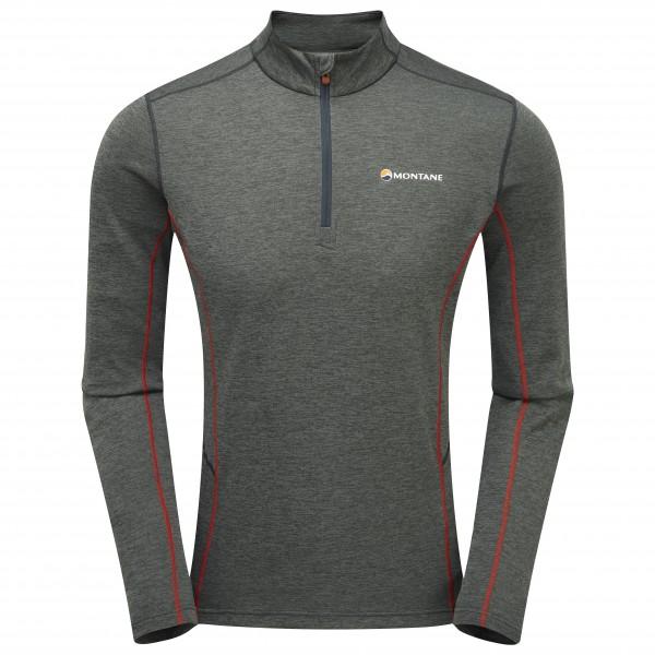 Montane - Dart Zip-Neck - Funktionsshirt Gr L;M;S;XL;XXL schwarz/grau;schwarz/blau MDAZN
