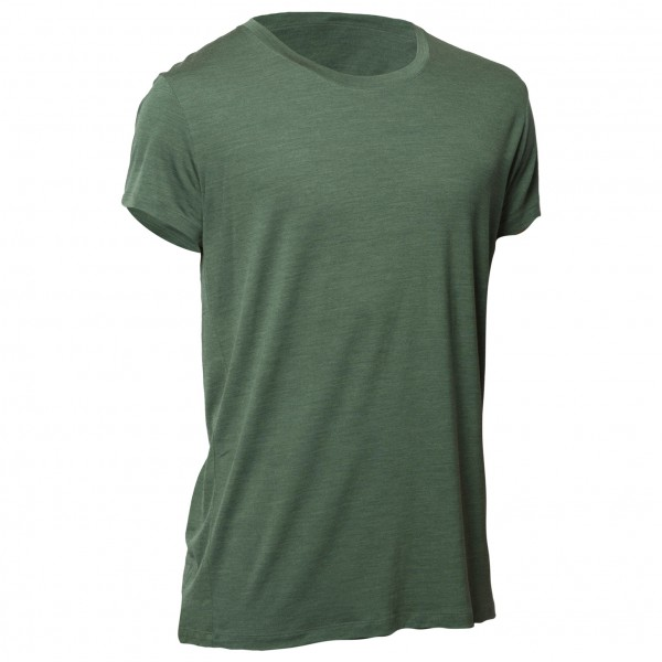 Northern Playground - T-Shirt Organic Wool and Silk Gr L oliv