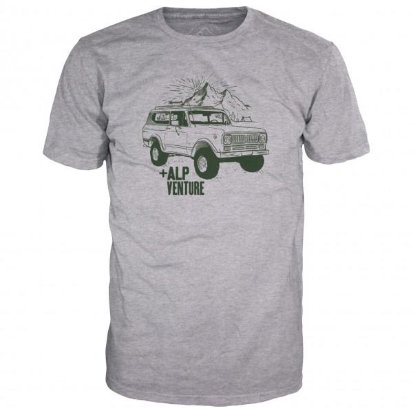 Alprausch - Monte-Verdi T-Shirt Gr XXL grau