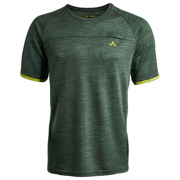 Vaude - Green Core T-Shirt - Funktionsshirt Gr XL oliv/schwarz