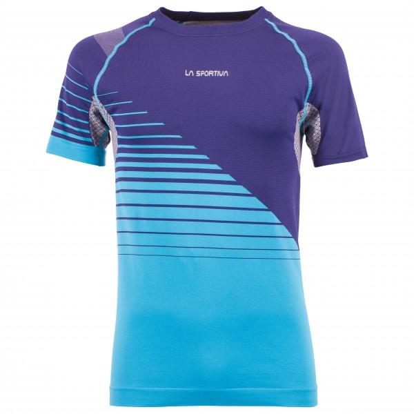 La Sportiva - Complex T-Shirt - Funktionsshirt Gr XXL lila/türkis/blau