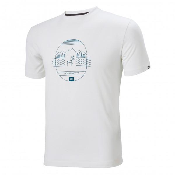 Helly Hansen - Skog Graphic - T-shirt Size Xxl  Grey