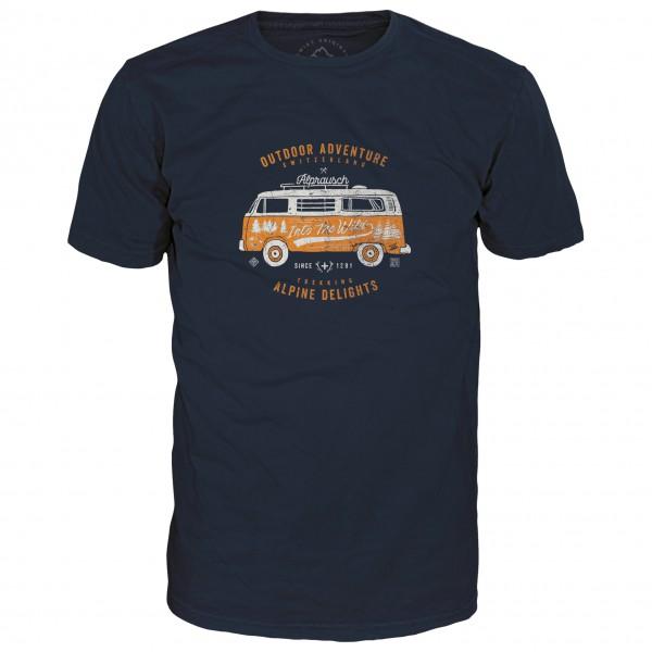 Alprausch - Hippie-Bus T-Shirt - T-Shirt Gr S schwarz Preisvergleich