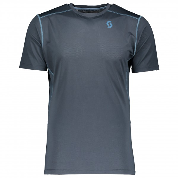 Scott - Shirt Trail Mountain Tech S/Sl - Funktionsshirt Gr XL blau/grau/schwarz Preisvergleich