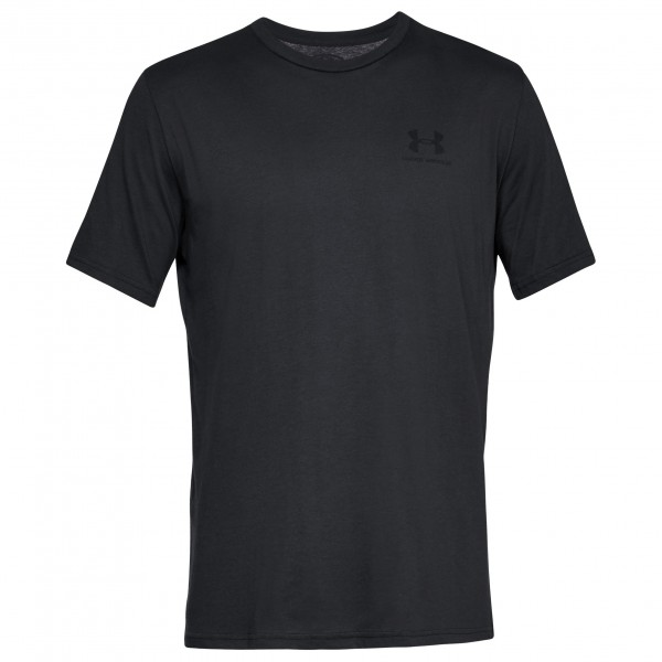 Under Armour - Sportstyle Left Chest S/S - Funktionsshirt Gr S - Regular schwarz